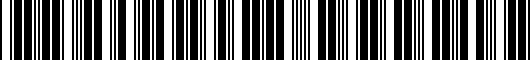 Barcode for PT29A0307006