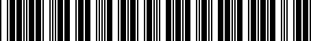 Barcode for PT3984209E