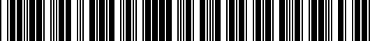 Barcode for PT42735985BK