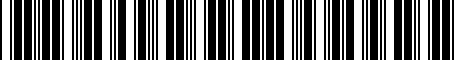 Barcode for PT90703120